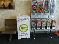 Shopko recycling container in store