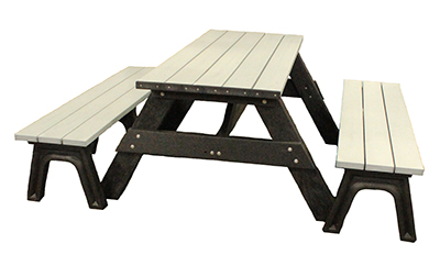 Park Place Deluxe Picnic Table with Detached Seating