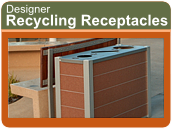 Designer Recycling/Waste Receptacles