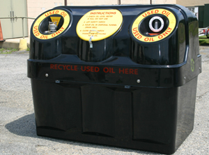 20 off all waste oil recycling containers until july 31st for How to recycle used motor oil