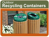 Outdoor Recycling Stations