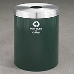 RecyclePro Value Series with single purpose opening for BOTTLES CANS etc
