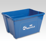 Large Curbside Recycling Bin