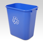 Small Deskside Recycling-Waste Bin