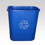 Medium Deskside Recycling-Waste Bin