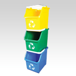 Apartment-Hotel Multi-Recycler Bin