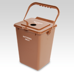 Battery Recycling Bin with Lid