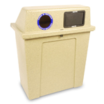 Super Sorter Two-In-One Recycling-Waste Bin