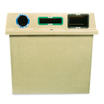 Super Sorter Three-In-One Recycling-Waste Bin