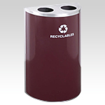 RecyclePro Half Round Dual Purpose for BOTTLES CANS