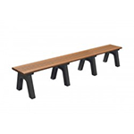 Victorian Flat Bench - 8ft