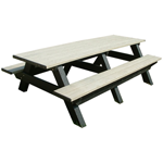 Deluxe Picnic Table - 8ft