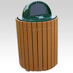 Envirodesign Dome Top Receptacle