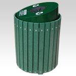 Envirodesign Sloped Top Receptacle