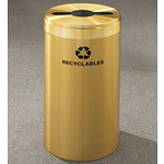 RecyclePro Value Series with multi-purpose opening for MIXED RECYCLABLES