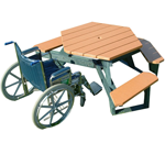 Hex Picnic Table - ADA