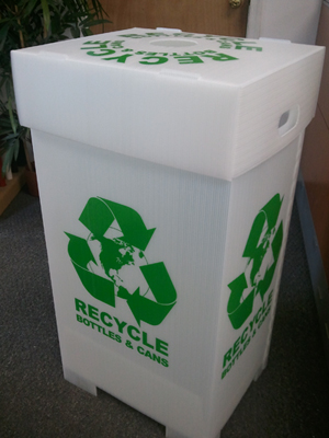 Free Shipping On Box Style Recycle Bins Until August 31