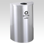 RecyclePro Half Round for BOTTLES CANS