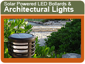 Solar Power Led Bollards